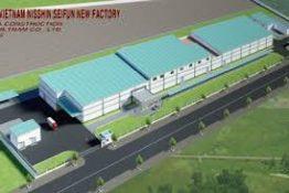 Cung cấp thiết bị máy bơm cho nhà máy Nishin Seifun