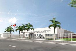 Dự án: Nhà máy  Fuji Electtric- KCN Đồng Văn 3- Hà Nam